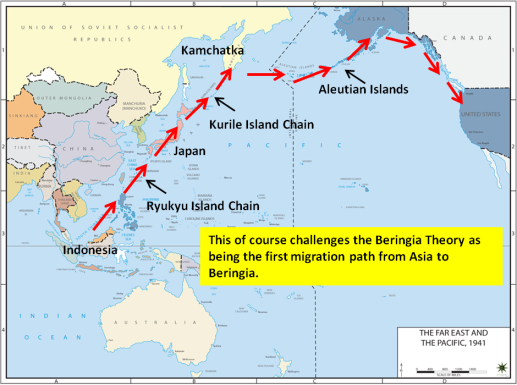 Coastal Route from East Asia Challeges Beringia Theory
