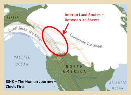 Land Routes to Interior