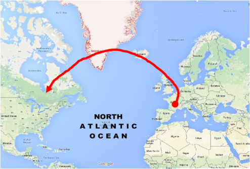Solutreans to North America